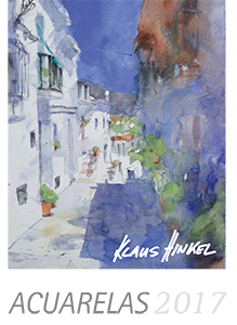 AcuarelasKalender2016 12 Watercolour prints by Klaus Hinkel